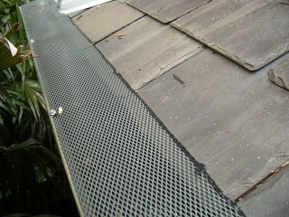 Gutter guard in Leander